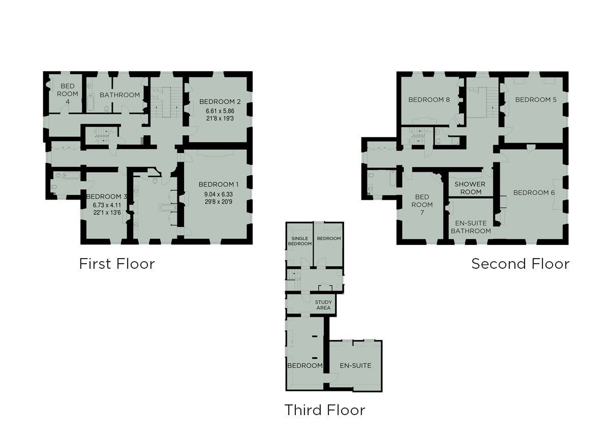 View the floorplan of Langley Park Weddings & Events