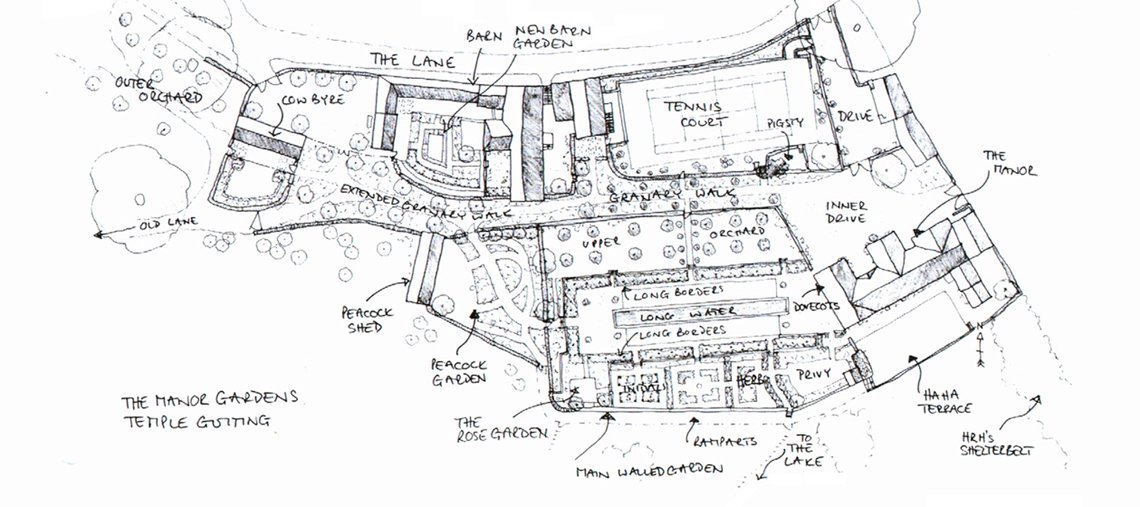View the floorplan of Temple Guiting Weddings