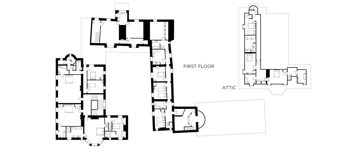 View the floorplan of Cornwell Manor Estate