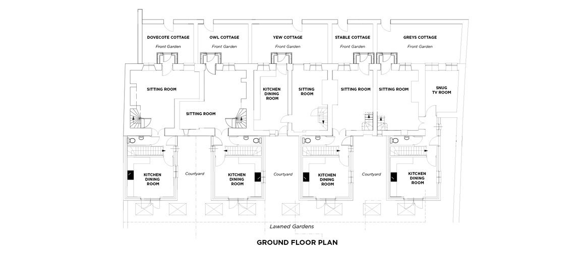 View the floorplan of Owl Cottage Southrop