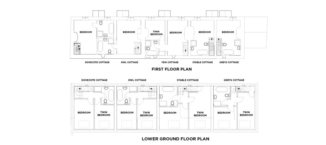 View the floorplan of Yew Tree Cottage Southrop