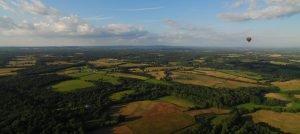 Hot Air Balloon Flight over Westonbirt
