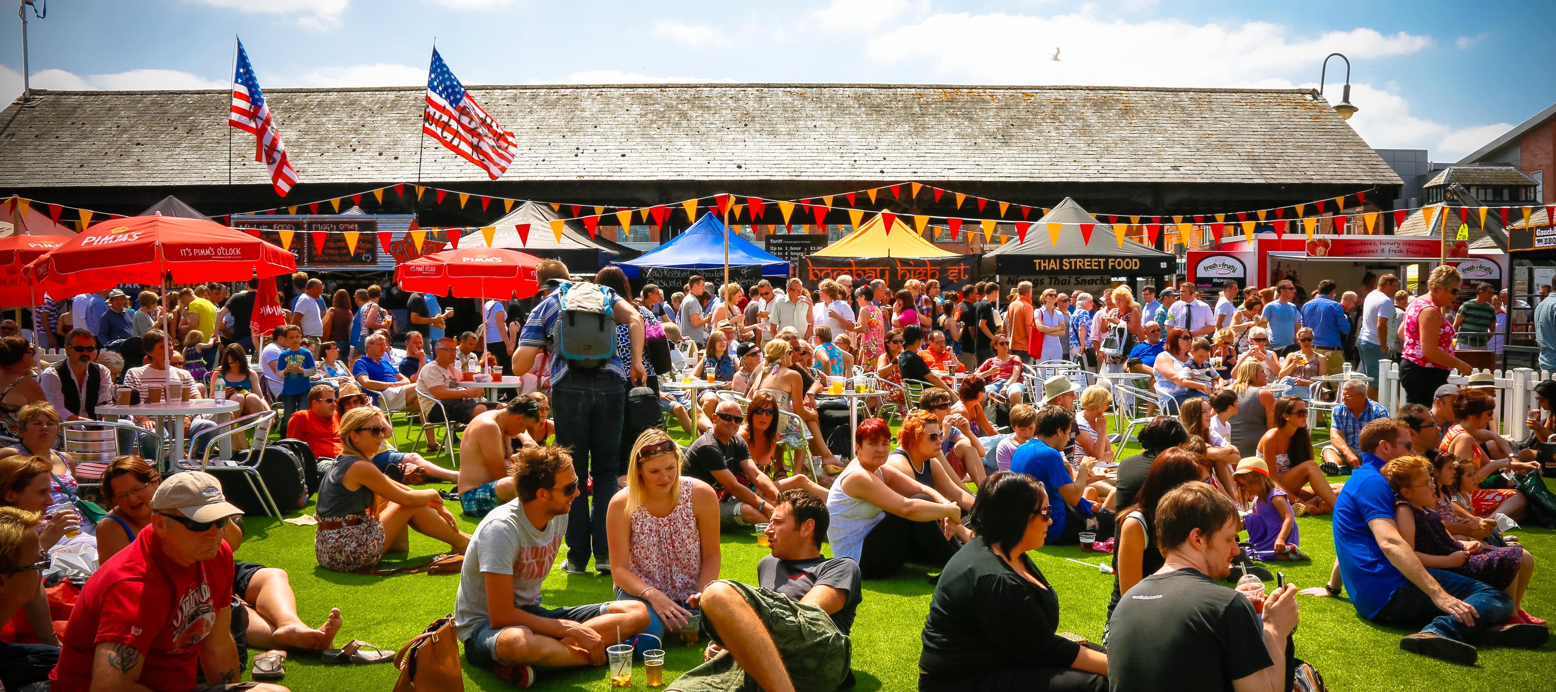 Gloucester Food Festival Luxury Cotswold Rentals