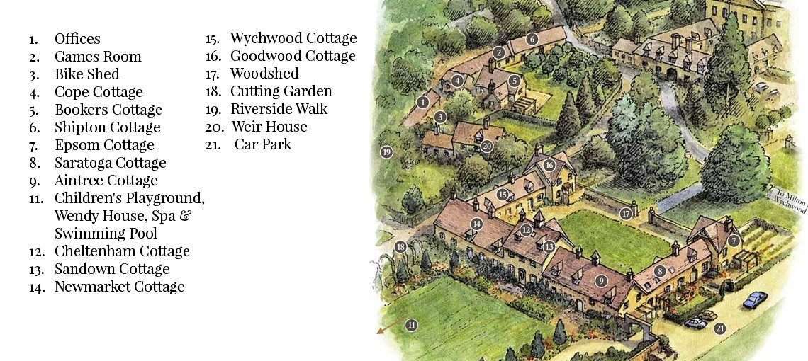 View the floorplan of Wychwood Cottage Bruern