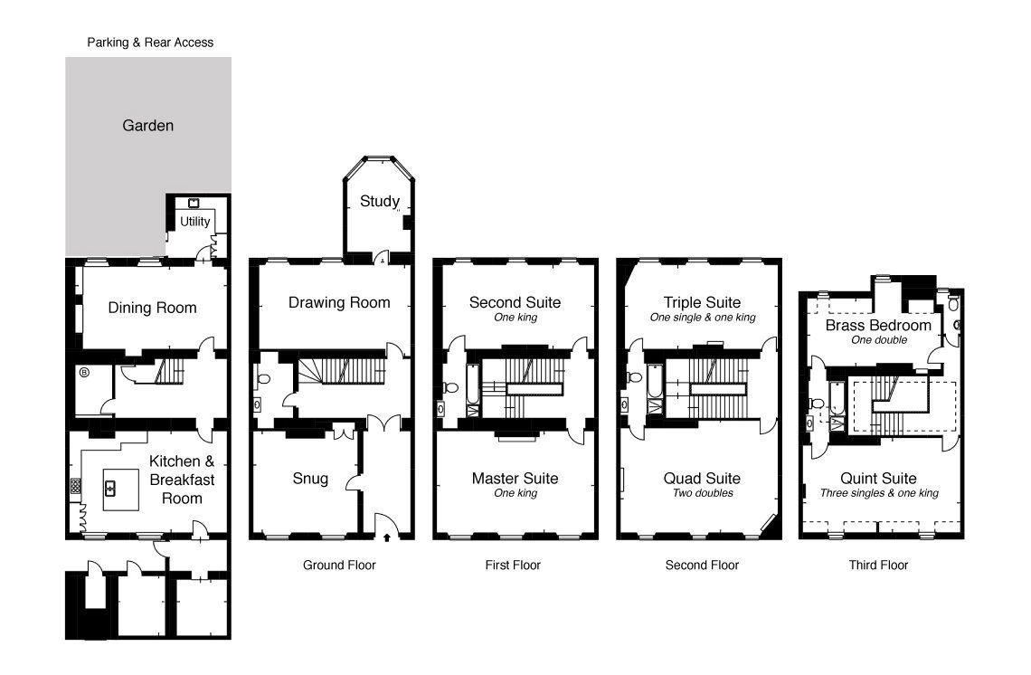 View the floorplan of 19 Queen Square Bath