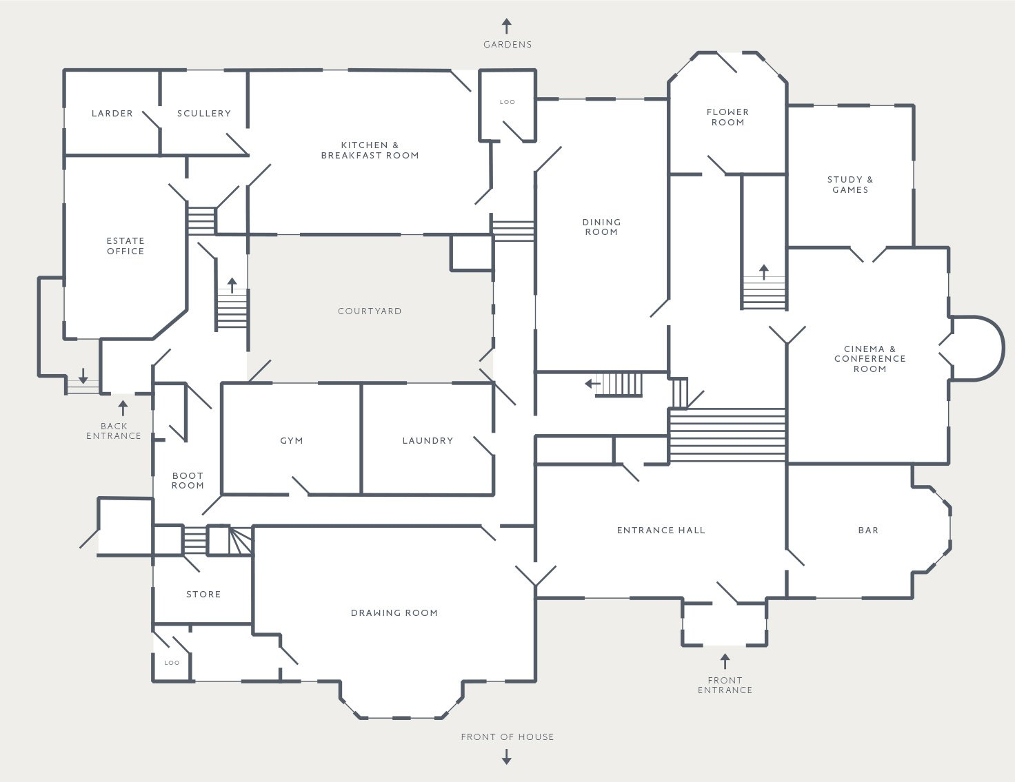 View the floorplan of Thorpe Manor