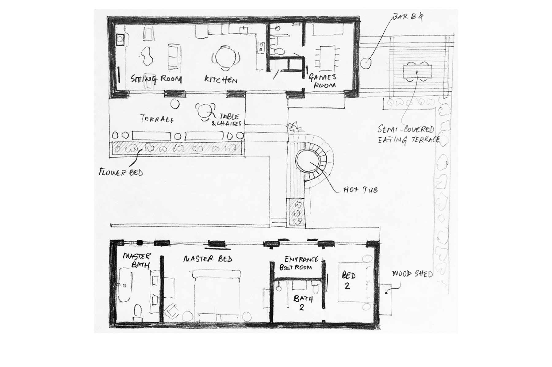 View the floorplan of Congrove Barns Bath