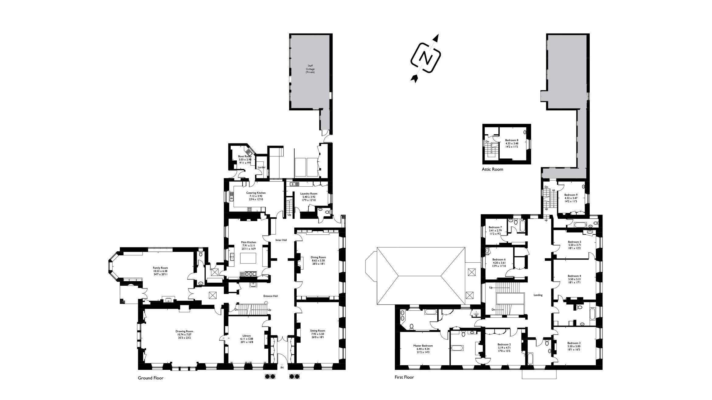 View the floorplan of Norton Hall Mickelton
