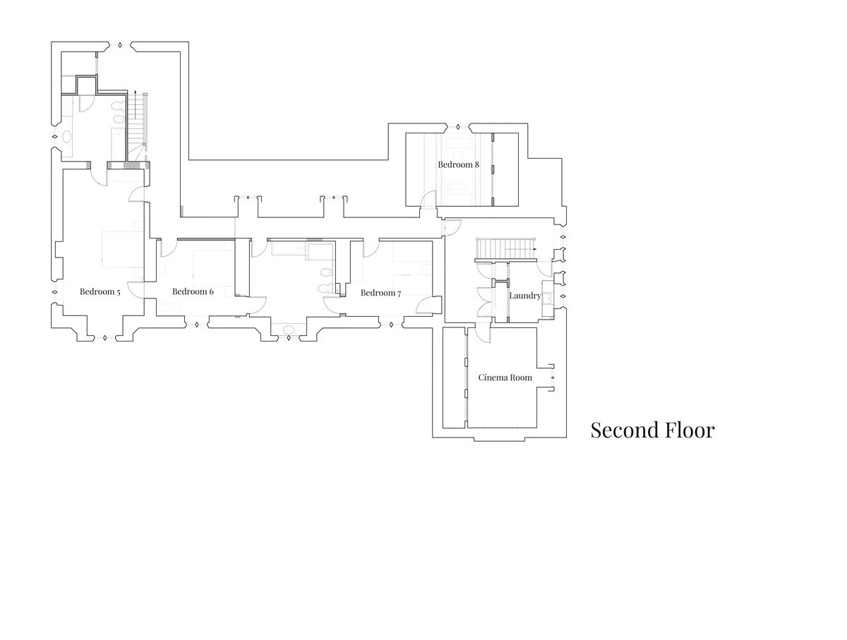 View the floorplan of Astley Manor Stow-on-the-Wold