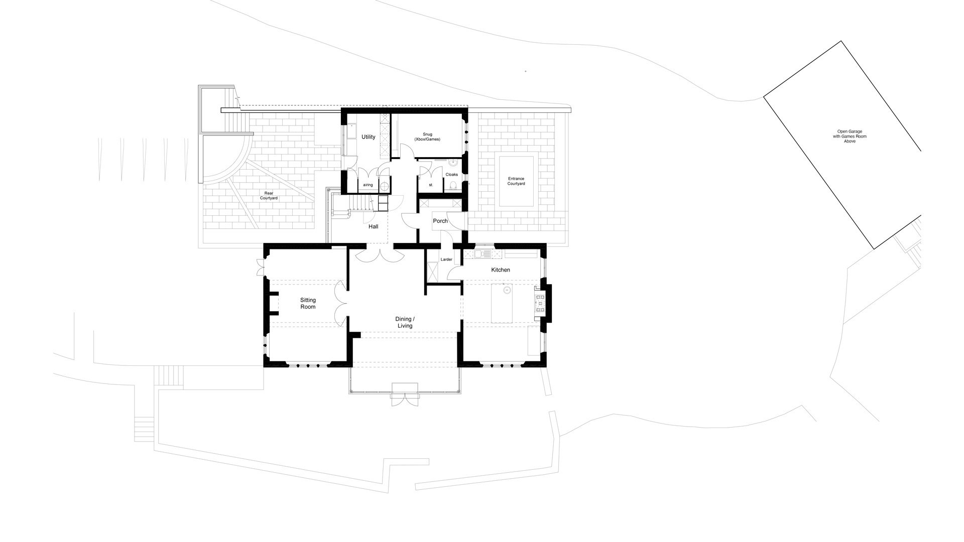 View the floorplan of Dover's Hill House