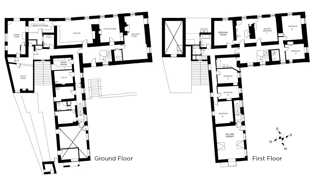 View the floorplan of Brook House Avening